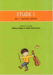 Vildana Repše : Etude 1 za prvi razred violine