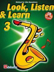 Look Listen & Learn Volume 3 Alt Sax