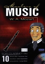 Masters Of Music - W.A. Mozart (Clarinet)