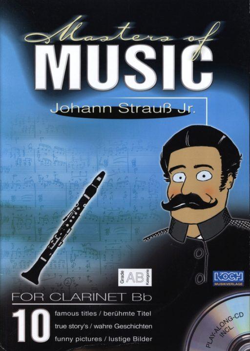 Masters Of Music - Johann Strauss Jun. (Clarinet)