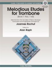 Joannes Rochut Melodious Etudes Trombone Book 1