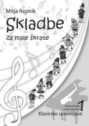 Mitja Repnik : Skladbe za male skratke (klavirska spremljava - Alt Saksofon)
