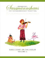 Sassmannshaus Early Start Violin Volume 1