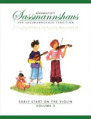 Sassmannshaus Early Start Violin Volume 3