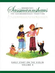 Sassmannshaus Early Start Violin Volume 4