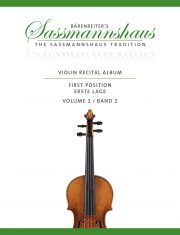 Sassmannshaus Violin Recital Album Volume 2