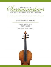 Sassmannshaus Violin Recital Album Volume 1