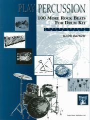 100 More Rock Beats for Drum Kit